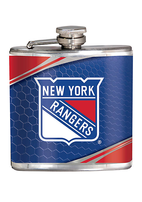 NHL New York Rangers 6 Ounce Stainless Steel Flask