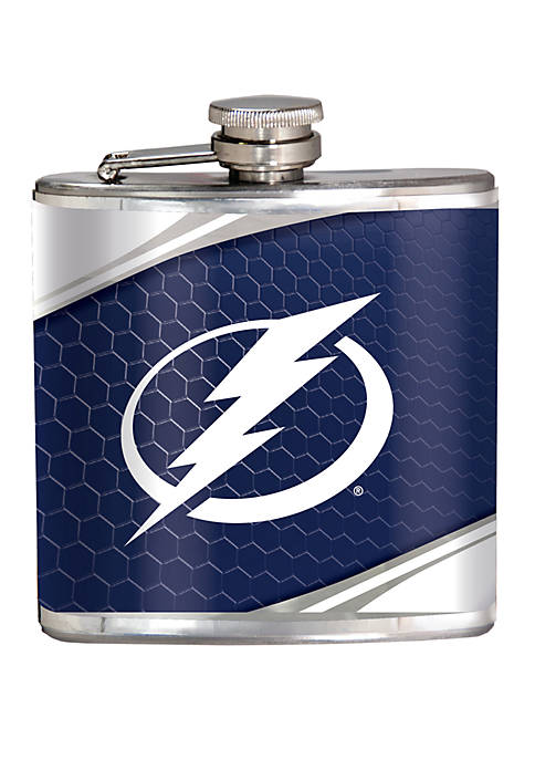 NHL Tampa Bay Lightning 6 Ounce Stainless Steel Flask