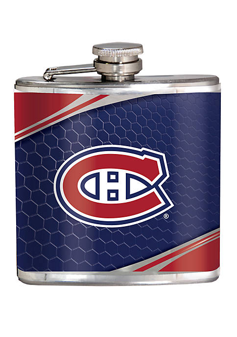 NHL Montreal Canadiens 6 Ounce Stainless Steel Flask