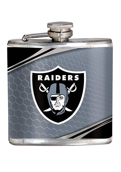 NFL Oakland Raiders 6 Ounce Stainless Steel Flask