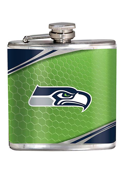 NFL Seattle Seahawks 6 Ounce Stainless Steel Flask
