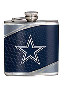 Great American Products NFL Dallas Cowboys 6 Ounce Stainless Steel Flask