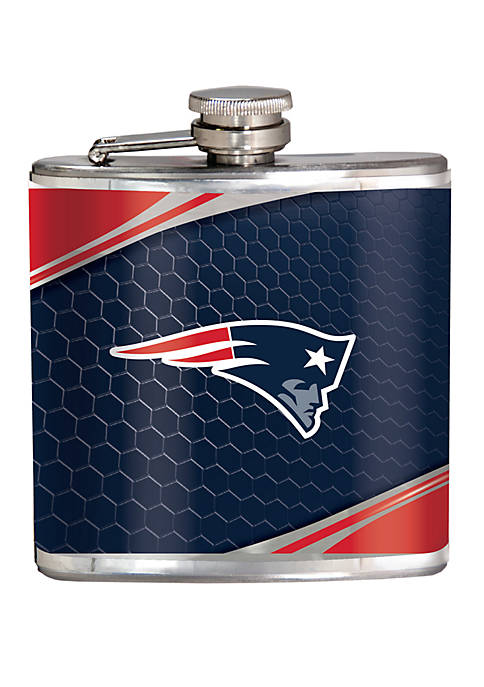 NFL New England Patriots 6 Ounce Stainless Steel Flask
