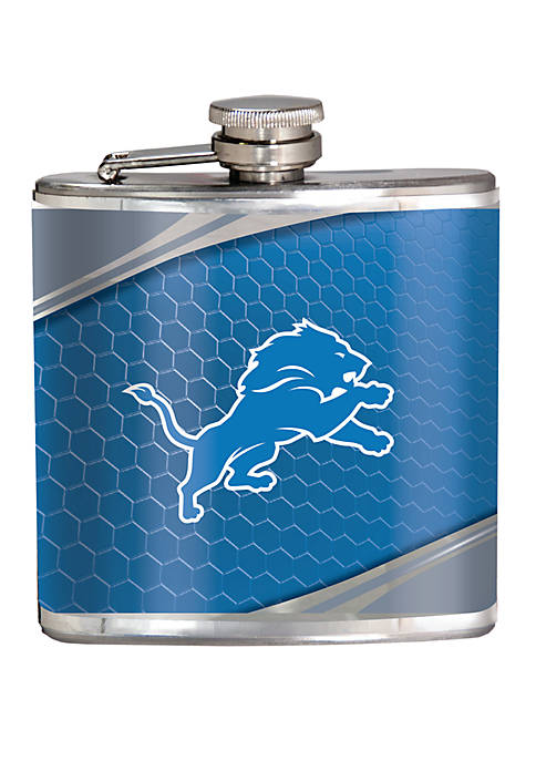 NFL Detroit Lions 6 Ounce Stainless Steel Flask