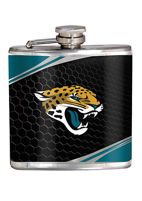 NFL Jacksonville Jaguars 6 Ounce Stainless Steel Flask