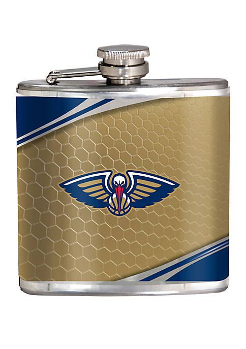 NBA New Orleans Pelicans 6 Ounce Stainless Steel Flask