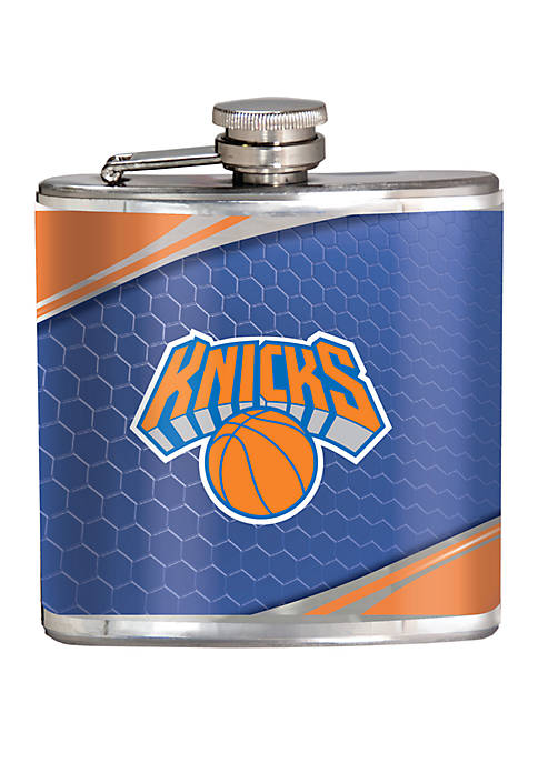 NBA New York Knicks 6 Ounce Stainless Steel Flask