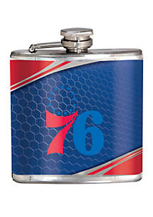 Great American Products NBA Philadelphia 76ers 6 Ounce Stainless Steel Flask