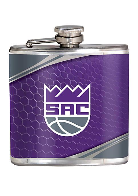 NBA Sacramento Kings 6 Ounce Stainless Steel Flask