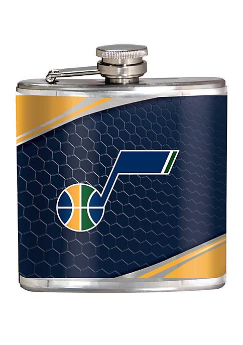 NBA Utah Jazz 6 Ounce Stainless Steel Flask