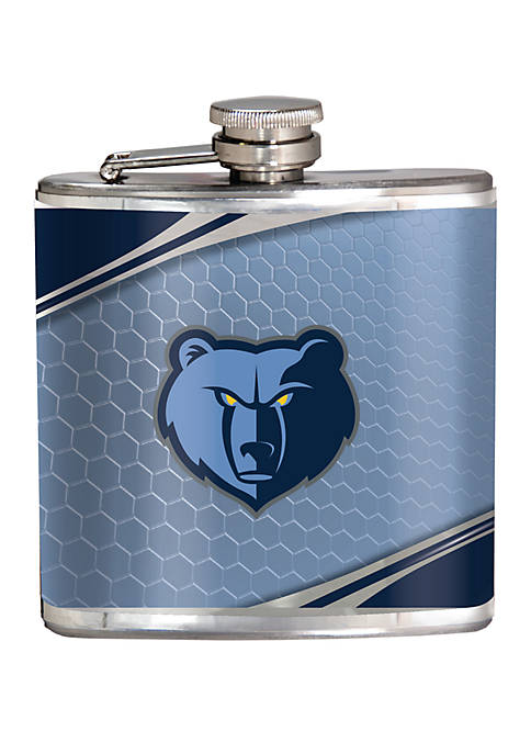 NBA Memphis Grizzlies 6 Ounce Stainless Steel Flask