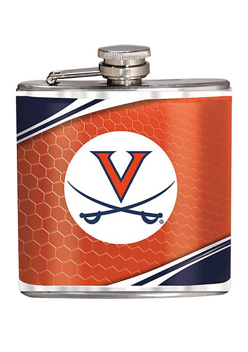 NCAA Virginia Cavaliers 6 Ounce Stainless Steel Flask