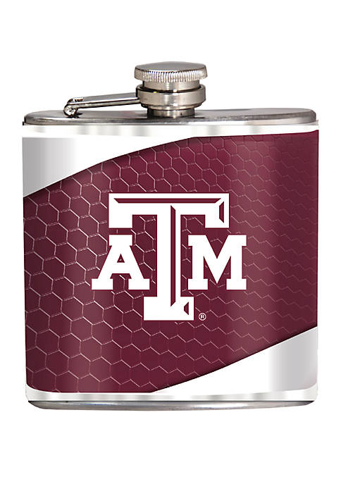 NCAA Texas A&M Aggies 6 Ounce  Stainless Steel Flask