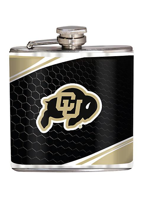 NCAA Colorado Buffaloes 6 Ounce Stainless Steel Flask