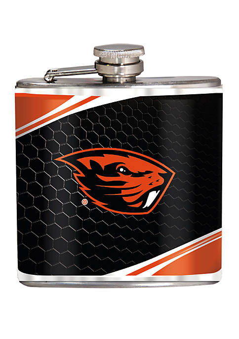 NCAA Oregon Ducks 6 Ounce Stainless Steel Flask