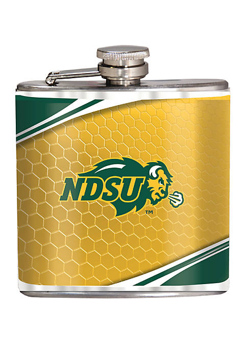 NCAA North Dakota State 6 Ounce Stainless Steel Flask