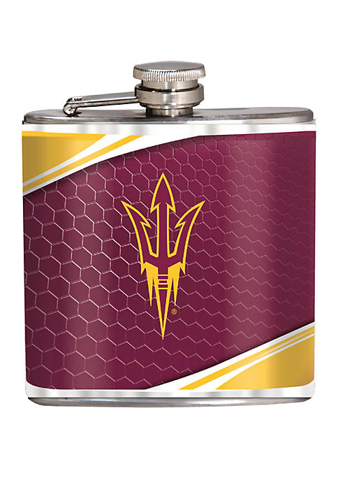 NCAA Arizona State Sun Devils 6 Ounce Stainless Steel Flask