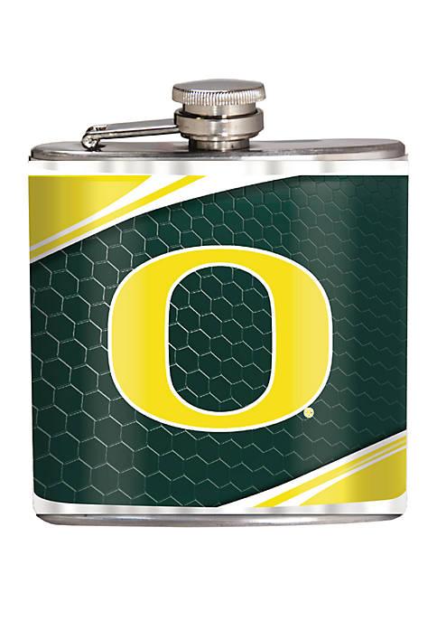 NCAA Oregon Ducks 6 Ounce Stainless Steel Flask