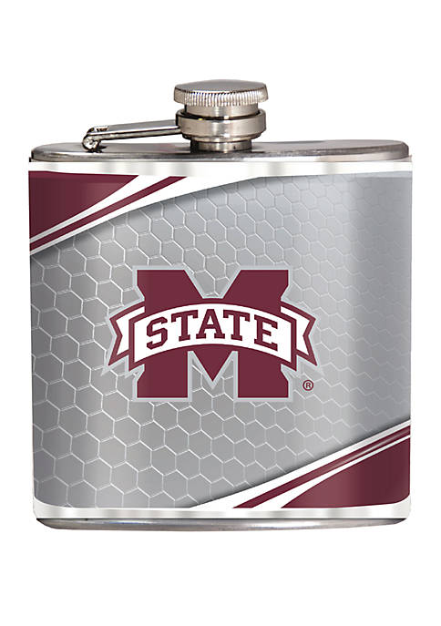NCAA Mississippi State Bulldogs 6 Ounce Stainless Steel Flask