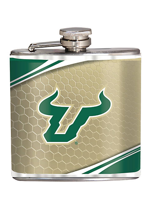 NCAA South Florida Bulls 6 Ounce Stainless Steel Flask