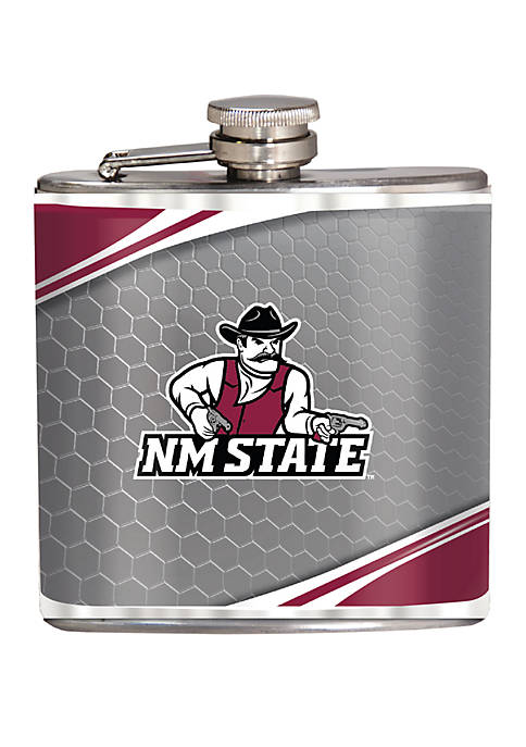 NCAA New Mexico State Aggies 6 Ounce Stainless Steel Flask