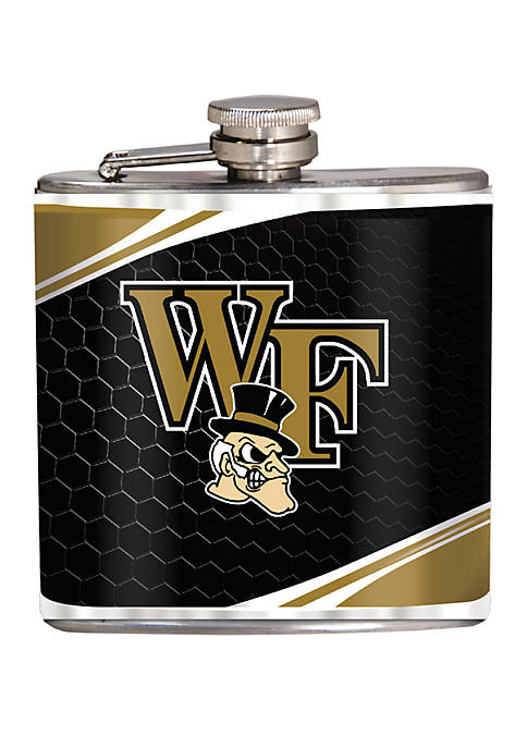 NCAA Wake Forest Demon Deacons 6 Ounce Stainless Steel Flask
