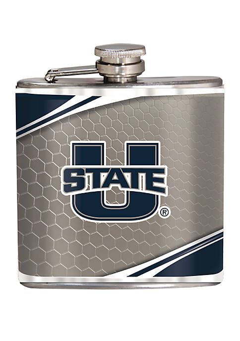 NCAA Utah State Aggies 6 Ounce Stainless Steel Flask