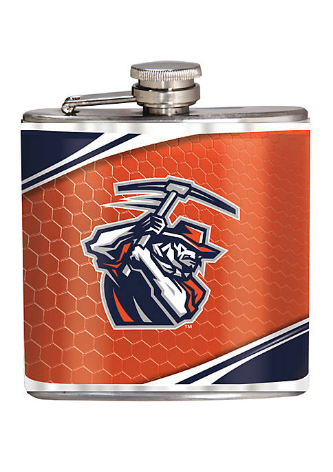 NCAA UTEP Miners 6 Ounce Stainless Steel Flask