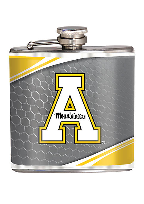 NCAA Appalachian State Mountaineers 6 Ounce Stainless Steel Flask