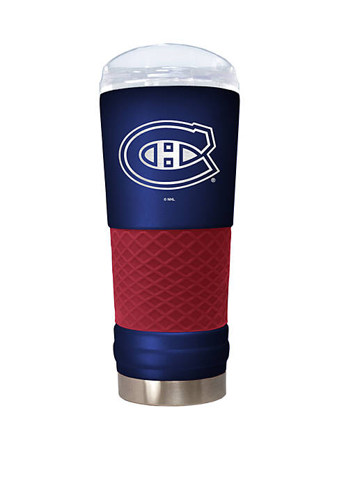 NHL Montreal Canadiens 24 Ounce Team Colored Draft Tumbler