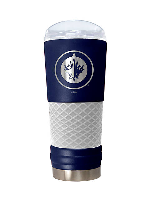 NHL Winnipeg Jets 24 Ounce Team Colored Draft Tumbler