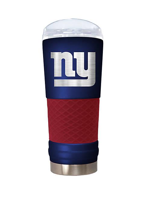 NFL New York Giants 24 Ounce Team Colored Draft Tumbler