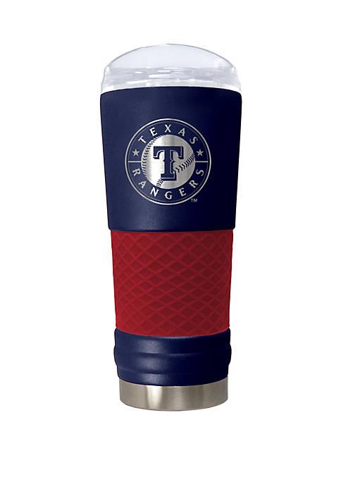 MLB Texas Rangers 24 Ounce Team Colored Draft Tumbler
