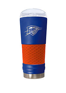 Great American Products NBA Oklahoma City Thunder 24 Ounce Team Colored Draft Tumbler