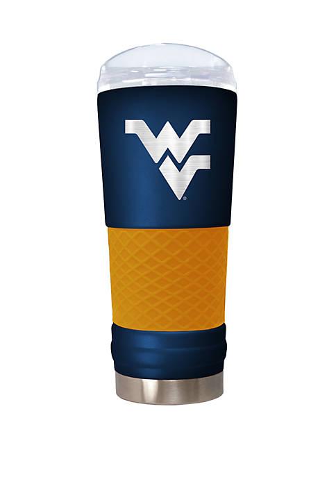 NCAA WVU Moutaineers 24 Ounce Team Color Draft Tumbler
