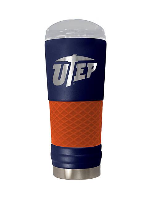 NCAA UTEP Miners 24 Ounce Team Color Draft Tumbler