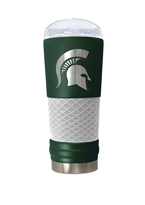 NCAA Michigan State Spartans 24 Ounce Team Color Draft Tumbler