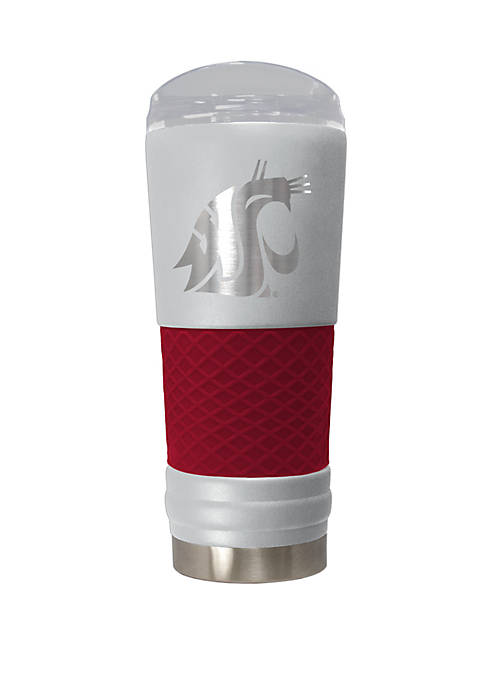 NCAA Washington State Cougars 24 Ounce Team Color Draft Tumbler