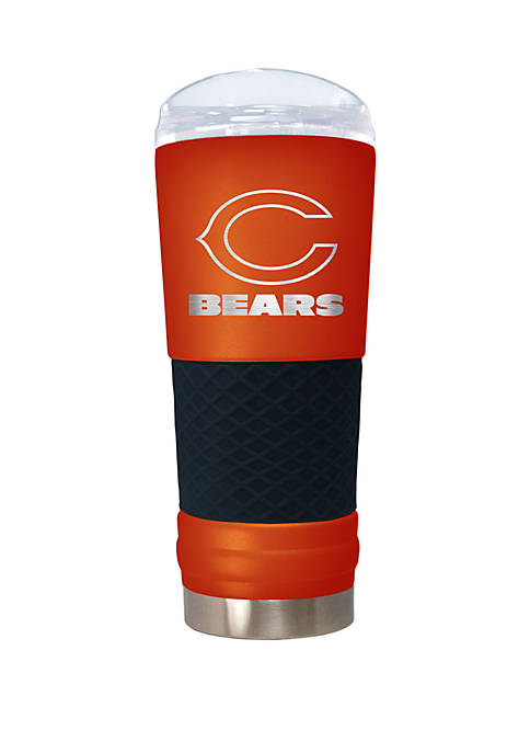 NFL Chicago Bears 24 Ounce Team Colored Draft Tumbler