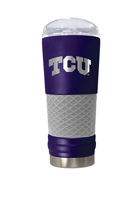 NCAA TCU Horned Frogs 24 Ounce Team Color Draft Tumbler