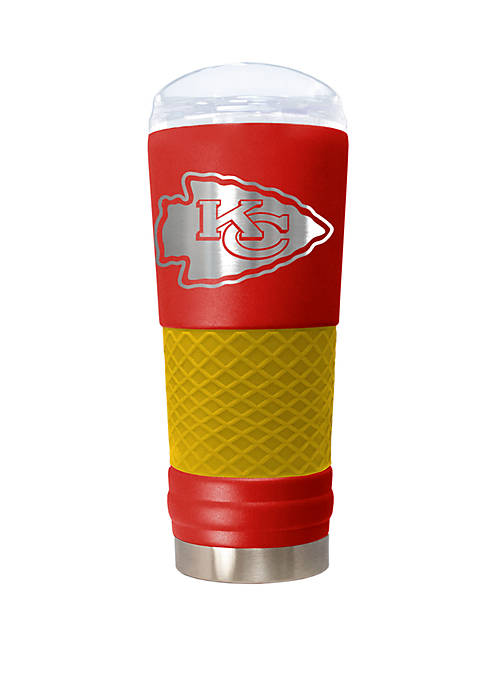 NFL Kansas City Chiefs 24 Ounce Team Colored Draft Tumbler