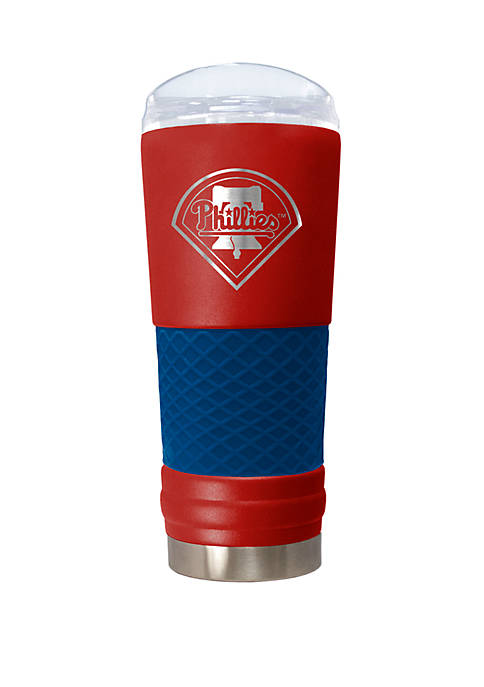 MLB Philadelphia Phillies 24 Ounce Team Colored Draft Tumbler
