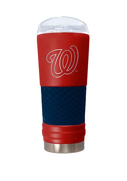 MLB Washington Nationals 24 Ounce Team Colored Draft Tumbler