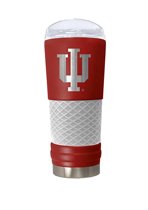 NCAA Indiana Hoosiers 24 Ounce Team Color Draft Tumbler