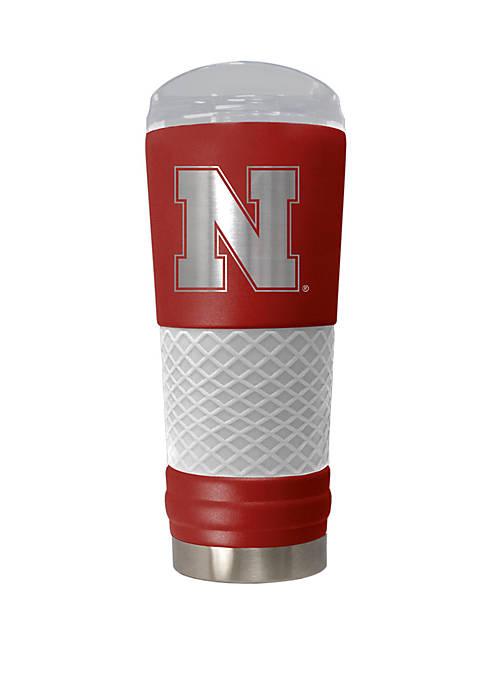 NCAA Nebraska Cornhuskers 24 Ounce Team Color Draft Tumbler