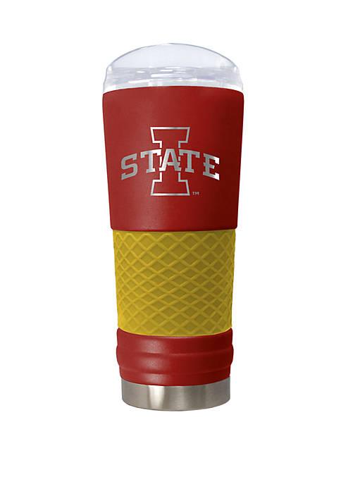 NCAA Iowa State Hawkeyes 24 Ounce Team Color Draft Tumbler