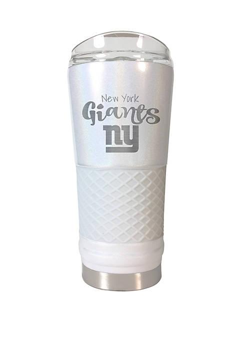 NFL New York Giants 24 Ounce Opal Draft Tumbler