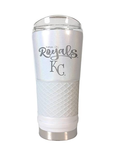 MLB Kansas City Royals 24 oz Opal Draft Tumbler