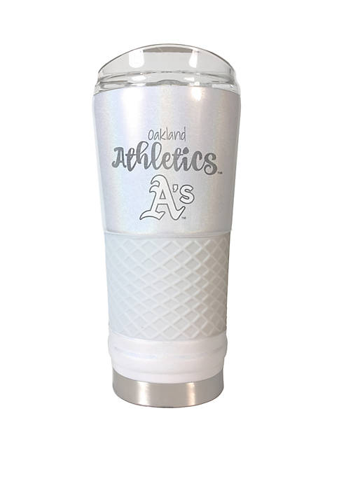 MLB Oakland Athletics 24 Ounce Opal Draft Tumbler