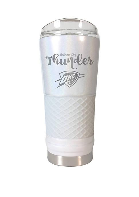 NBA Oklahoma City Thunder 24 Ounce Opal Draft Tumbler